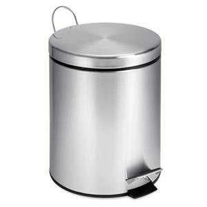 Honey Can Do Stainless Steel 5L Round Step Can