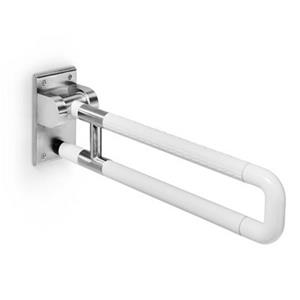 WS Bath Collections Otel 28-in Stainless Steel Safety Support Grab Bar