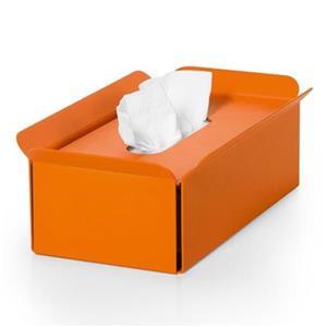 WS Bath Collections Bandoni Orange Compliments Tissue Box