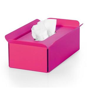 WS Bath Collections Bandoni Fuchsia Compliments Tissue Box
