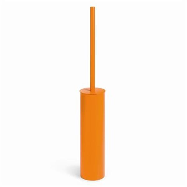 WS Bath Collections Skoati Orange Toilet Brush Holder