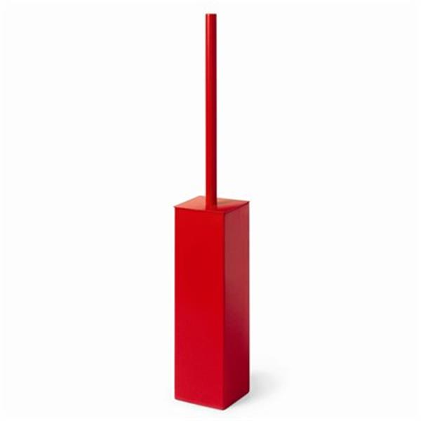 WS Bath Collections Skoati Red Toilet Brush Holder