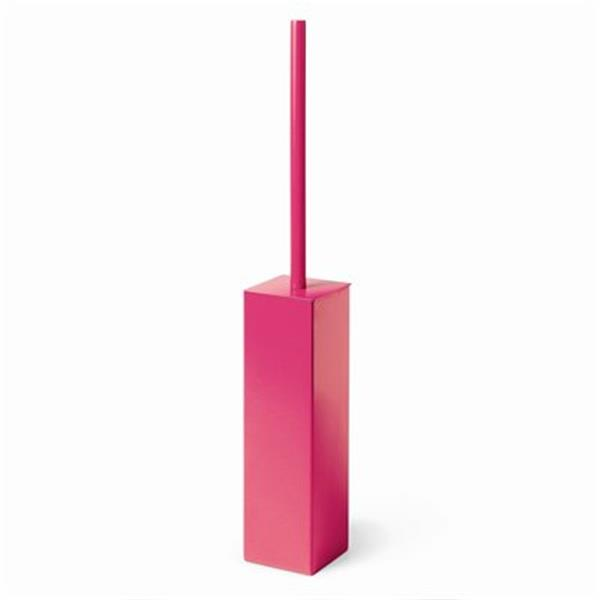 WS Bath Collections Skoati Pink Toilet Brush Holder