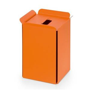 WS Bath Collections Bandoni Orange Compliments Paper Basket