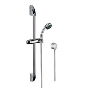 Nameeks Superinox 59-in Polished Chrome Sliding Rail Hand Shower with Water Connection
