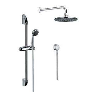 Nameeks Superinox 59-in Polished Chrome Wall Mounted Shower Column