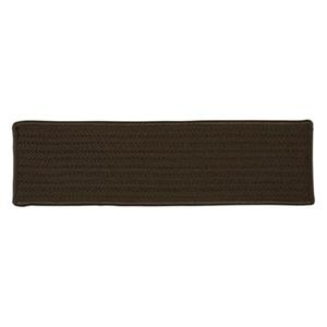 Colonial Mills Simply Home Solid 8-in x 28-in Mink Stair Tread Mat - 13/pack