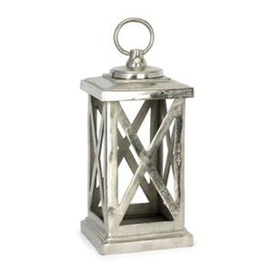 IMAX Worldwide Keira Aluminum Lantern Candle Holder
