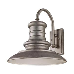 Feiss Redding Station Outdoor Tarnished Sconce.