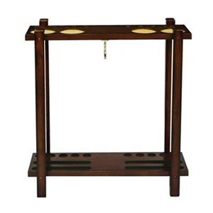 RAM Game Room Products Straight Floor Cue Rack