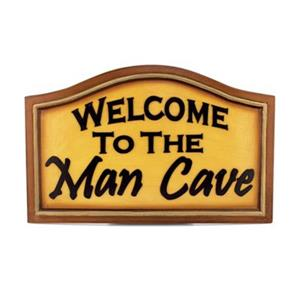 RAM Game Room 22-in x 18-in Welcome to the Man Cave Bar Sign