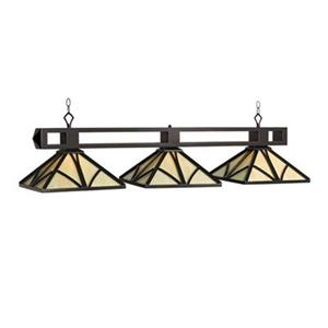 RAM Game Room Products  Chateau 56-in 3-Light Billiard Light