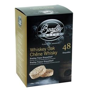 Bradley Smoker BTWOSE Whiskey Oak Bisquettes,BTWOSE48