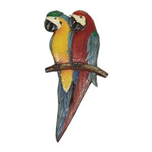 RAM Game Room Two Parrots Outdoor Wall Art