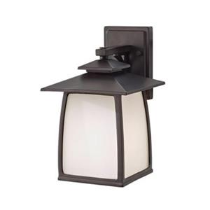 Feiss Wright House Outdoor Oil Rubbed Bronze Sconce.