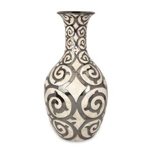 IMAX Worldwide Benigna 28.5-in Off-White Oversized Tall Floor Vase