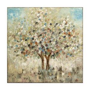 IMAX Worldwide 36.25-in x 35.75-in Seasons Handpainted Oil Canvas