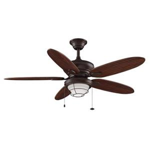 Fanimation Kaya 52-in Brown 1-Light Ceiling Fan