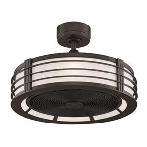Fanimation Beckwith 12.5-in Black 4-Light Ceiling Fan