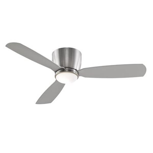 Fanimation Embrace™ 52-in Brushed Nickel 1-Light Ceiling Fan