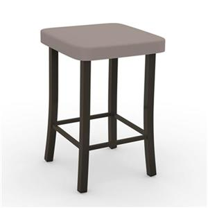 Amisco Ryan 30-in Metal Bar Stool