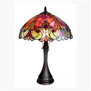 Chloe Lighting Amor 2-Light Table Lamp