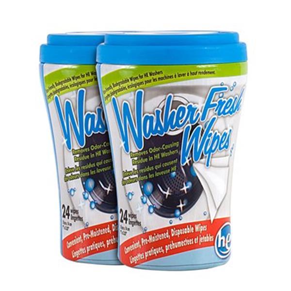 Productz WasherFresh High Efficiency Washing Machine Wipes (2-Pack)