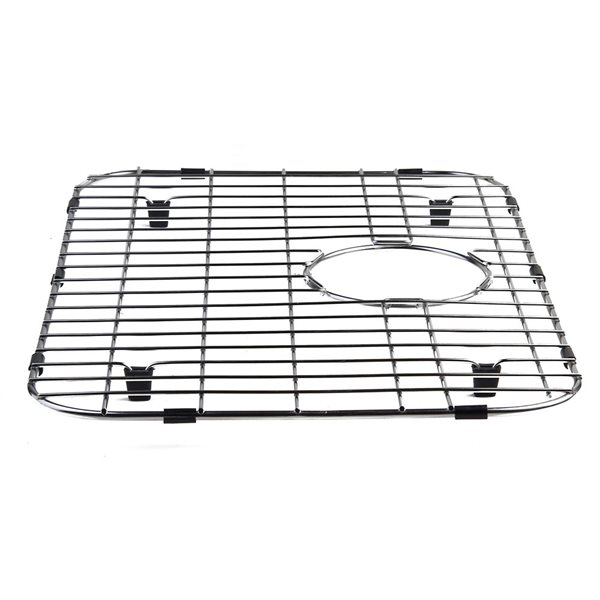 ALFI Brand 20.5-in x 13.6-in Solid Stainless Steel Kitchen Sink Grid