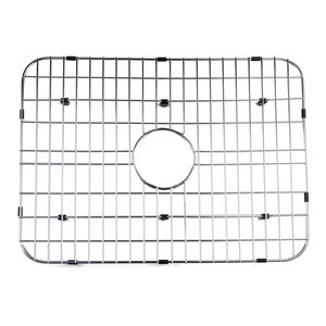 ALFI Brand 23.8-in x 17.5-in Solid Stainless Steel Kitchen Sink Grid