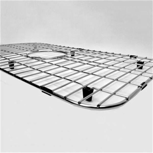 ALFI Brand 26.1-in x 14.4-in Stainless Steel Kitchen Sink Grid