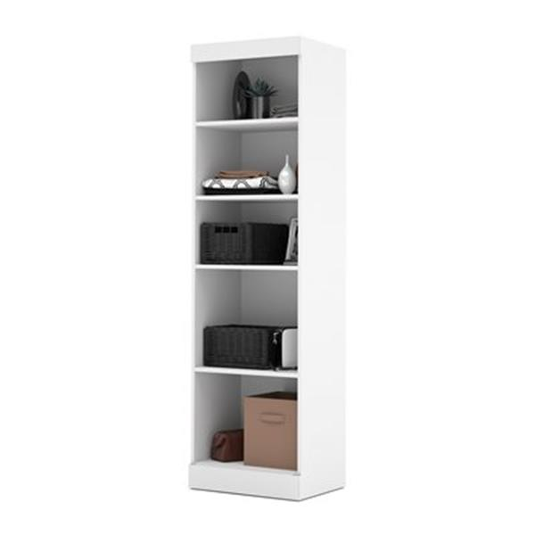 Bestar Pur Collection 25-in 5 Shelves Storage Unit