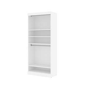 Bestar Pur White 25-in Storage Unit