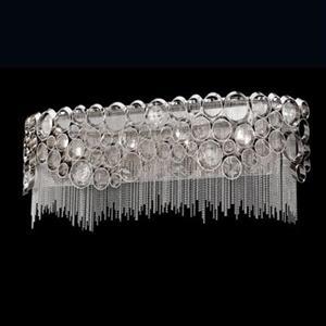 Eurofase Cameo Nickel 4-Light Bathroom Vanity Light Bar