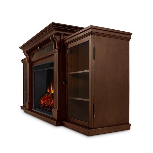 """Foyer-divertissement électrique Calie Real Flame 30,50"""" x 67"""""""