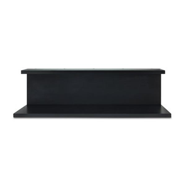 Nexxt Design Noto Black Tiered Wall Shelf with Chalkboard