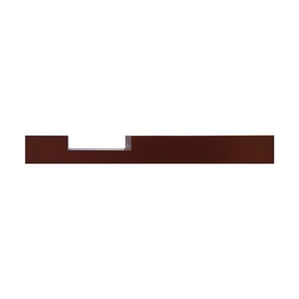 Nexxt Design Tevi 36-in Black Floating Shelf