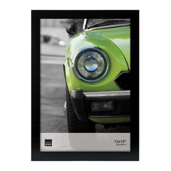 Nexxt Designs Langford 20-in x 14-in Black Wood Poster Frame