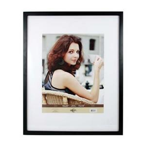 Nexxt Designs Contempo 11-in x 14-in Black Wood Picture Frame