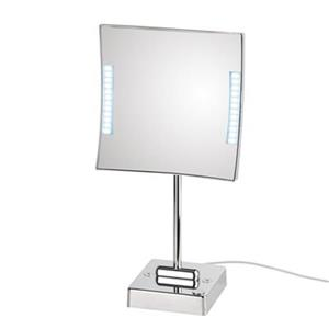WS Bath Collections Mirror Pure lll LED Lighted 3x Magnifying Mirror