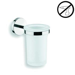 WS Bath Collections Duemila Self-Adhesive Single Holder With Tumbler