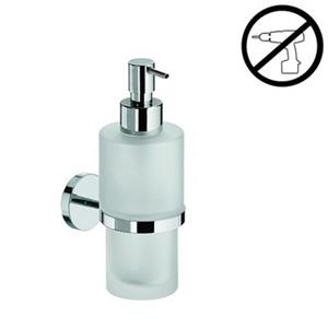 WS Bath Collections Duemila 6.90-in Polished Chrome Glue Self-Adhesive Wall Mount