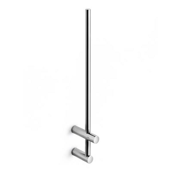 WS Bath Collections Picola 5255 Polished Chrome Vertical Toilet Paper Holder