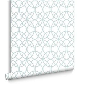 Graham & Brown 56 sq ft Mint Solace Origin Unpasted Wallpaper
