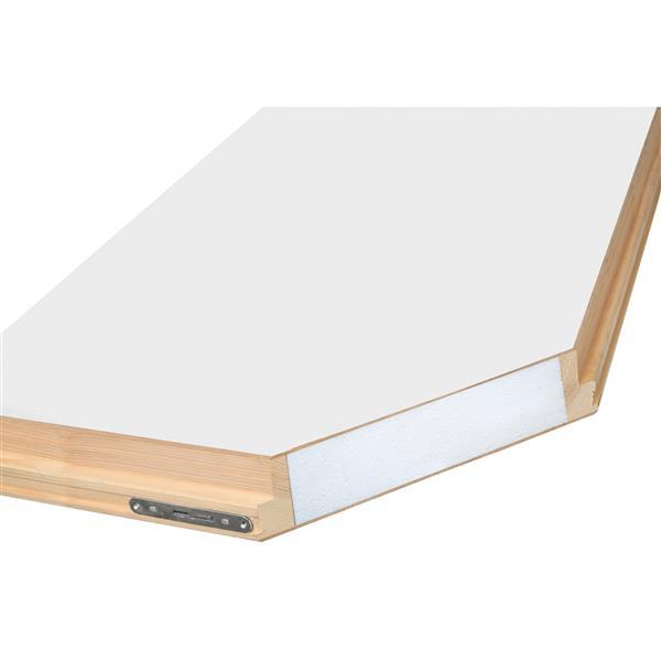 """Folding Attic Ladder - 22.5"""" x 47"""" - Wood - Clear"""