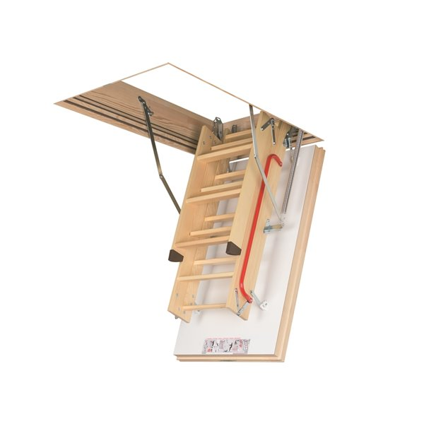 Fakro Attic Ladder Wooden Insulated LWT - 300lbs