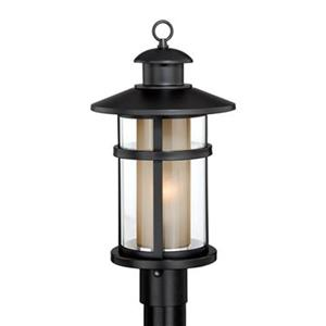 Vaxcel Lighting Cascadia Cadiz Oil Burnished Bronze Outdoor Post Light