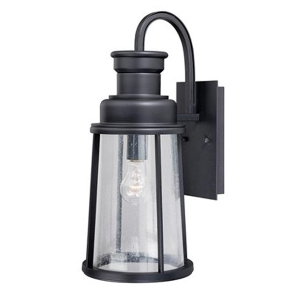 Cascadia Coventry 1-Light Dusk to Dawn Bronze Outdoor Wall Lantern