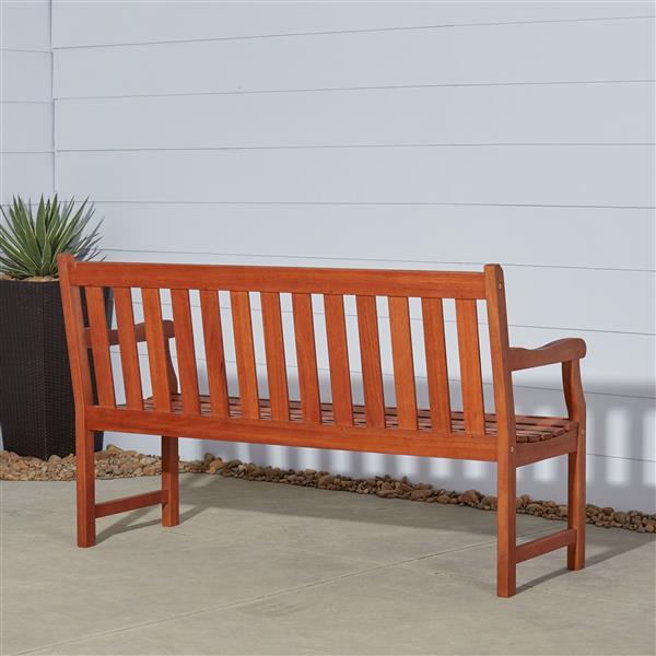 Vifah Malibou 5-ft Outdoor Garden Bench