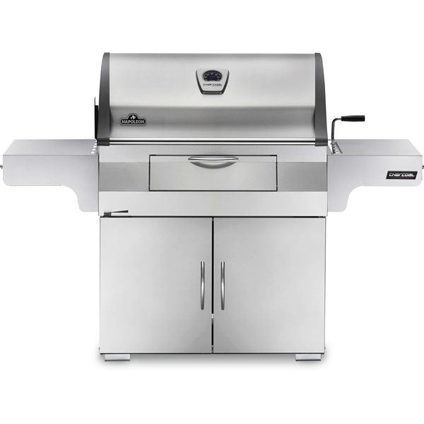 Napoleon Professional Charcoal Grill -  Stainless Steel