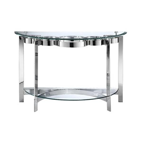 Stein World Mercury Demilune Sofa Table